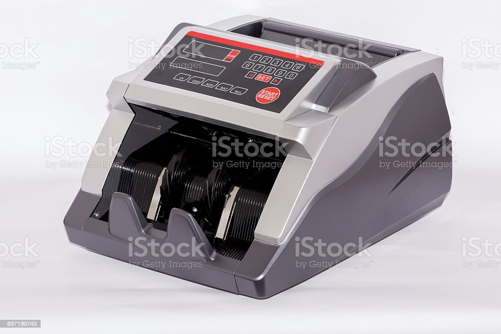 State Due counting, money, bank. stock photo