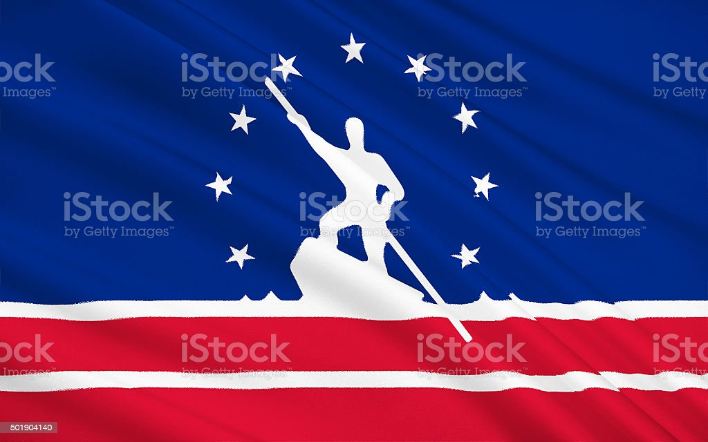 State Flag of Richmond stock photo