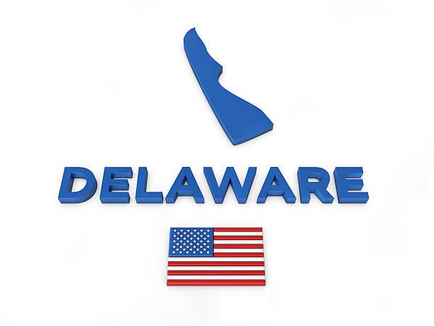 usa, state of delaware - karten de stock-fotos und bilder