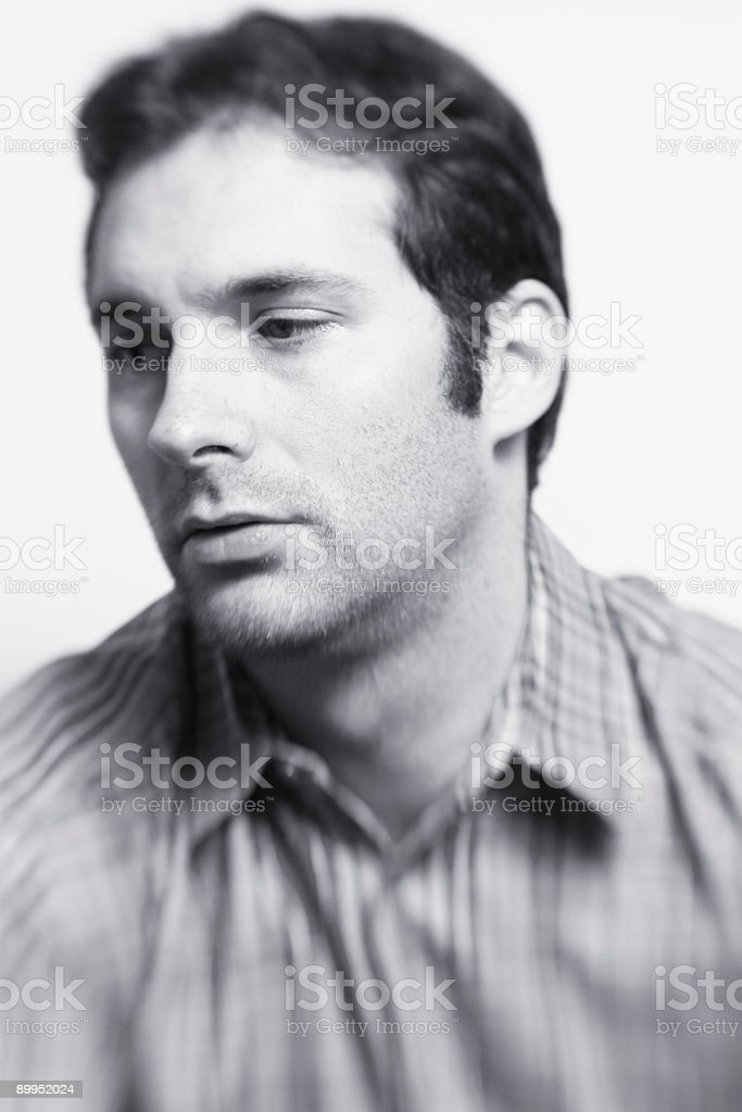 State of Depression stock photo