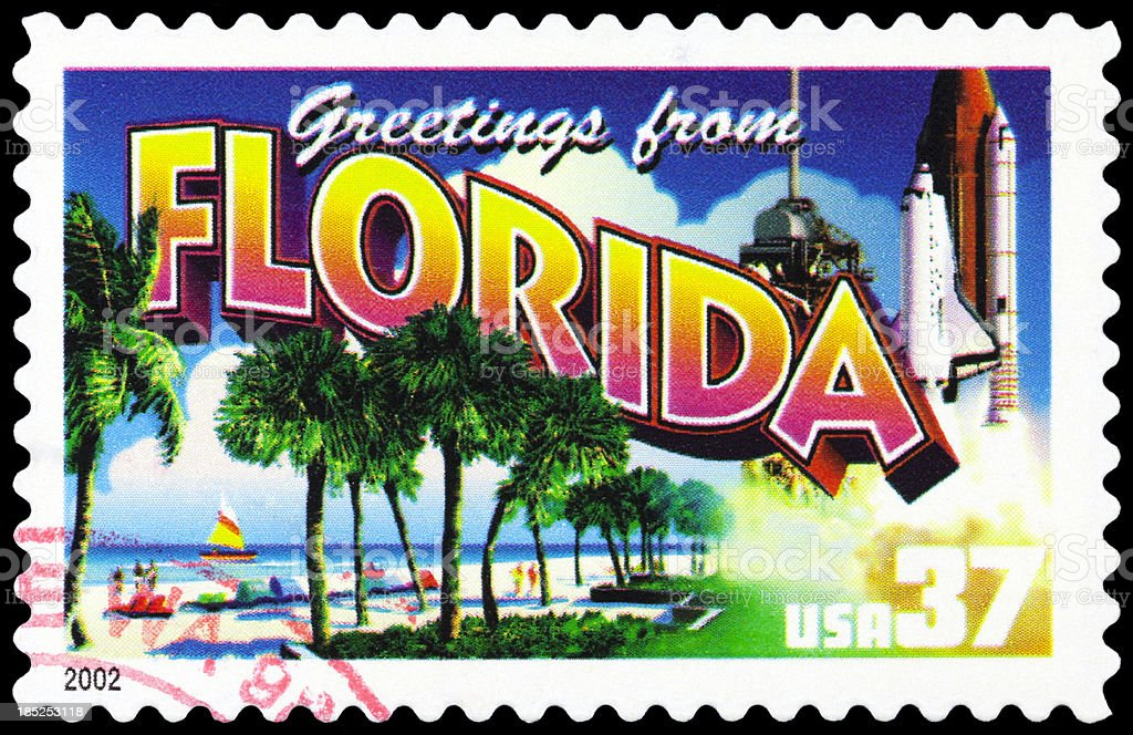 State of Florida stock photo