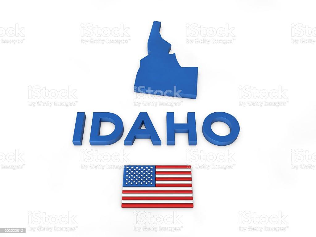 USA, State of Idaho stock photo