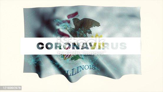 523034278 istock photo USA State of Illinois Coronavirus News 1216992978