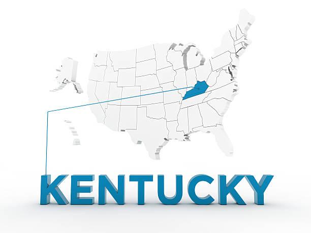 usa, state of kentucky - karten de stock-fotos und bilder