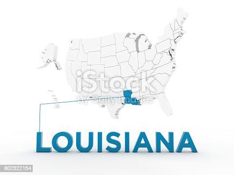 520945644 istock photo USA, State of Louisiana 602322154