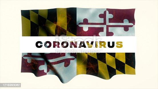 523034278 istock photo USA State of Maryland Coronavirus News 1216993082