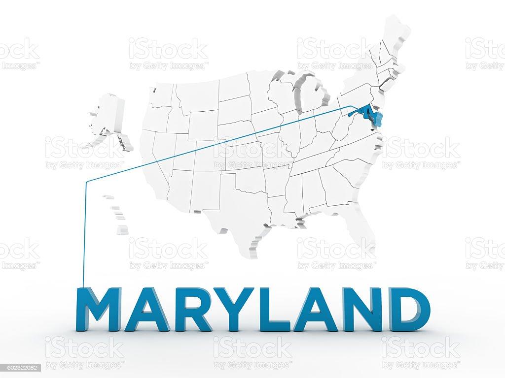 USA, State of Maryland stock photo