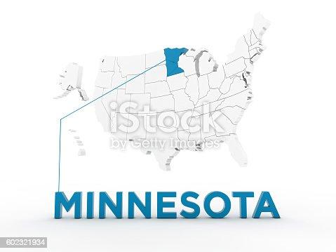 92243400 istock photo USA, State of Minnesota 602321934