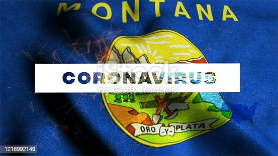 523034278 istock photo USA State of Montana Coronavirus News 1216992149