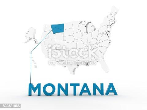 861272646 istock photo USA, State of Montana 602321866