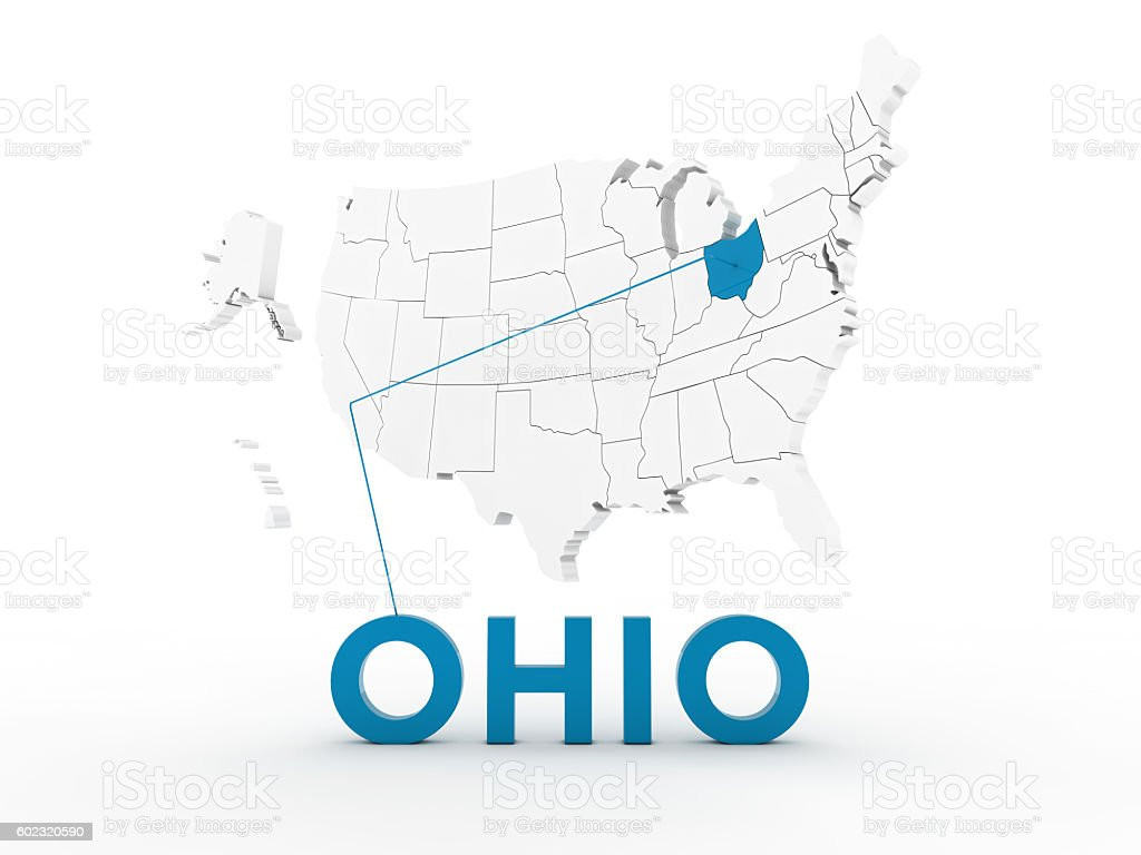 USA, State of Ohio stock photo