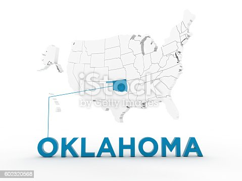 520945644 istock photo USA, State of Oklahoma 602320568