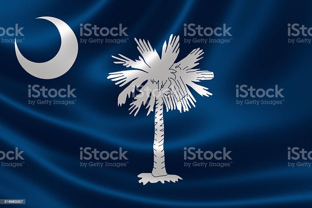 State of South Carolina Flag stock photo
