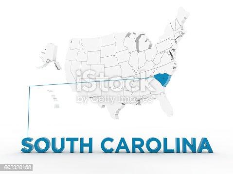 861272646 istock photo USA, State of South Carolina 602320158