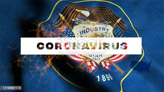 523034278 istock photo USA State of Utah  Coronavirus News 1216992174
