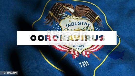 523034278 istock photo USA State of Utah  Coronavirus News 1216992194
