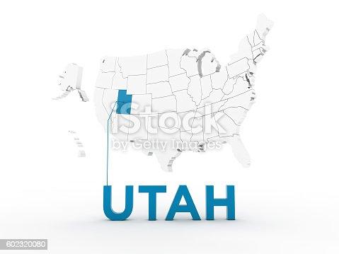 861272646 istock photo USA, State of Utah 602320080
