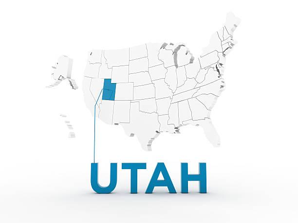 usa, state of utah - karten de stock-fotos und bilder