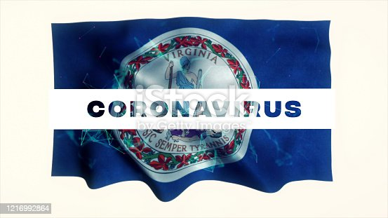 523034278 istock photo USA State of Virginia Coronavirus News 1216992864