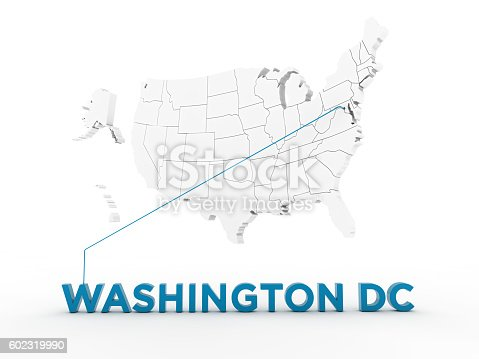 861272646 istock photo USA, State of Washington DC 602319990