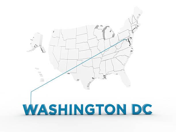usa, state of washington dc - karten de stock-fotos und bilder