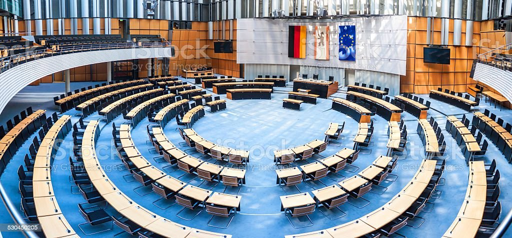 State parliament in Berlin stock photo