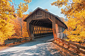 State Road Covered Bridge in Ashtabula, Ohio