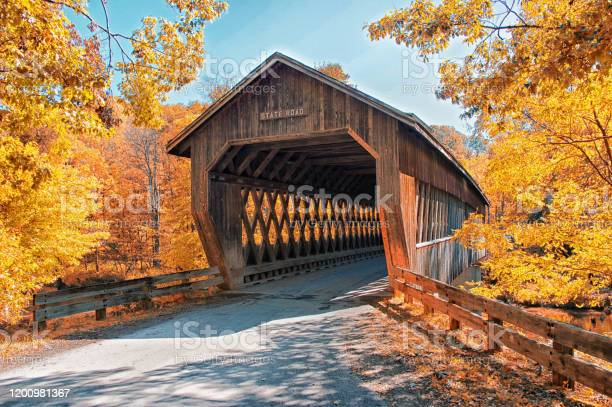 Photo of State Road Covered Bridge