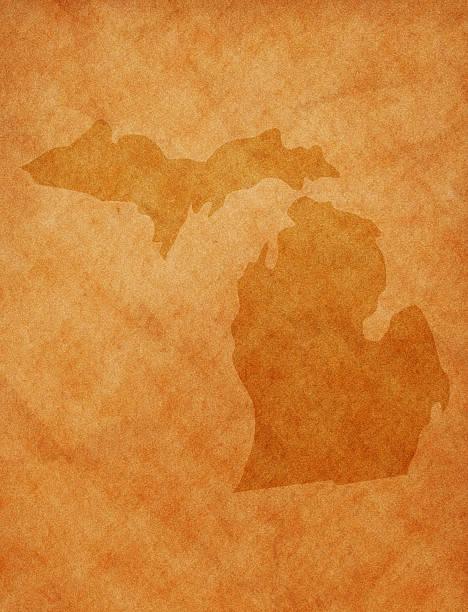 State series - Michigan stock photo