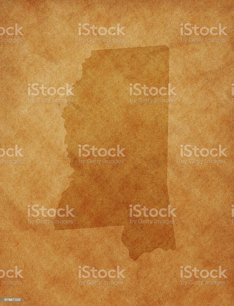 State series -  Mississippi stock photo