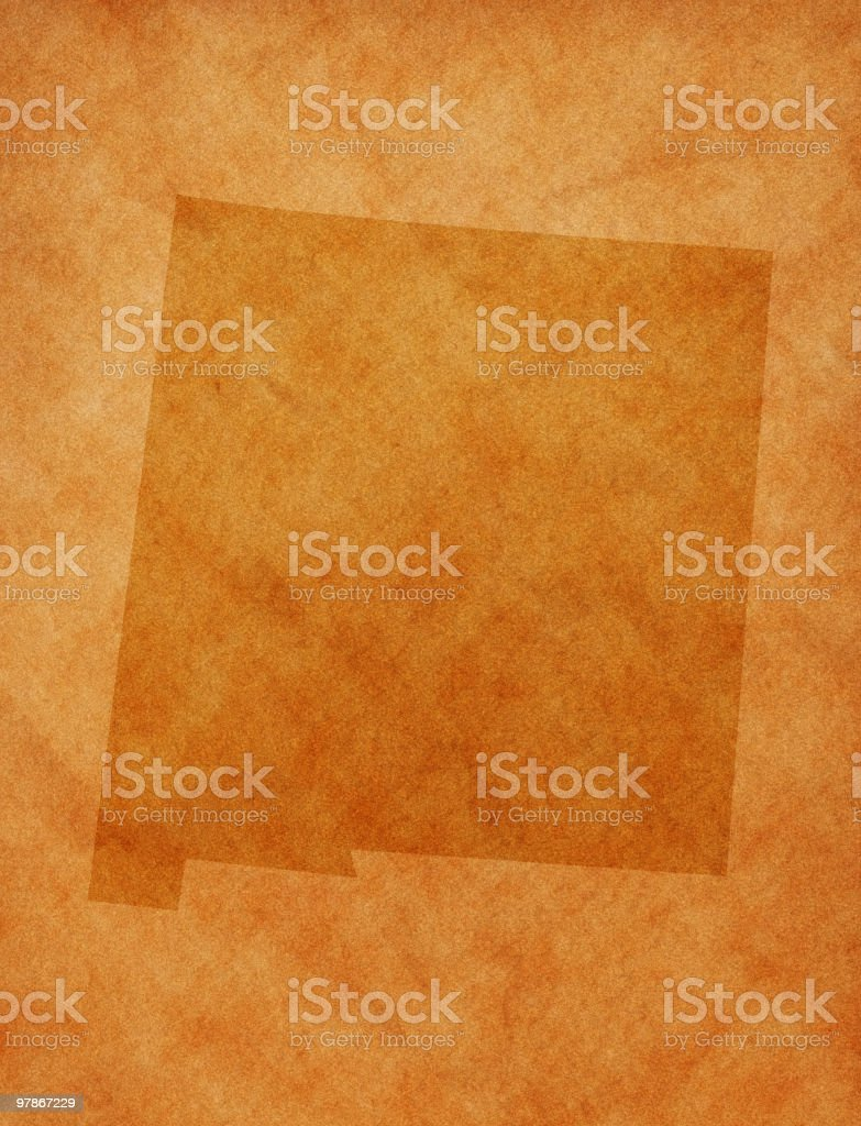 State series - New Mexico royalty-free stock photo