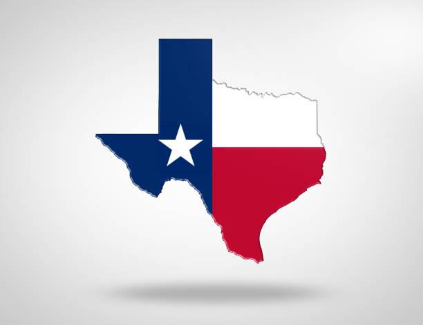 US State Texas stock photo