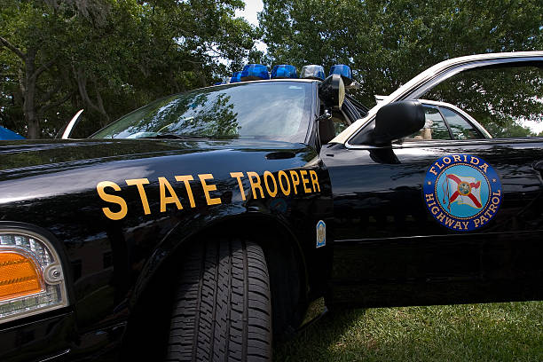 State Trooper State troper car trooper stock pictures, royalty-free photos & images