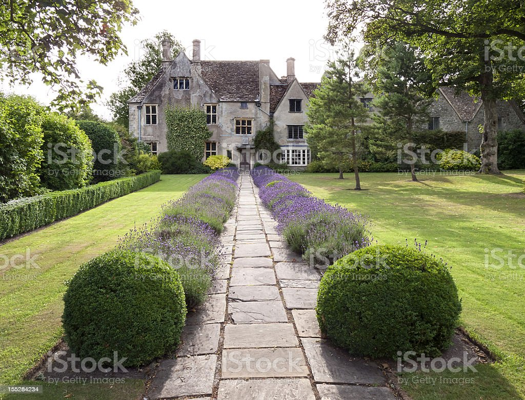 Stately House, England stock photo