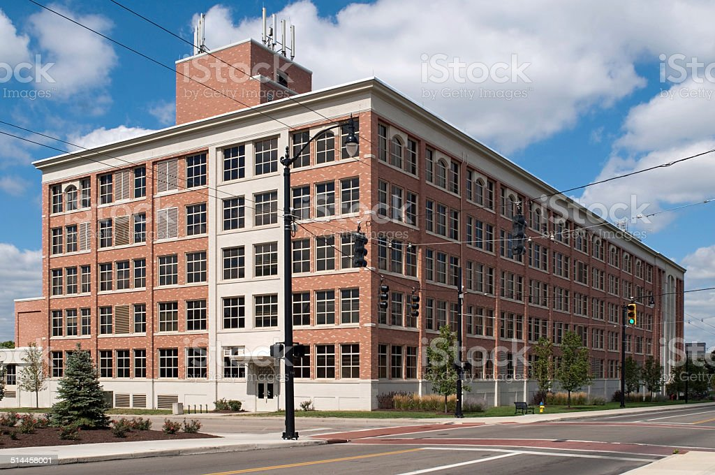 Stately Warehouse stock photo