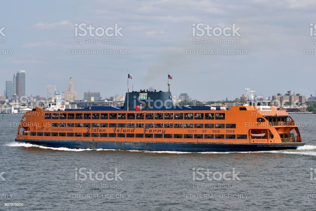 Staten Island Ferry Nyc Stock Photo - Download Image Now