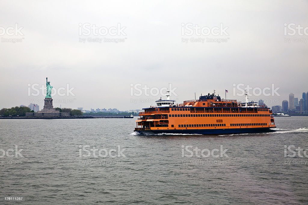 Staten Island Ferry royalty-free stock photo