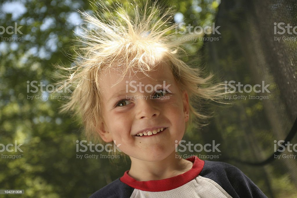 Static Cling stock photo