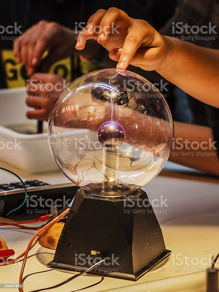 static Electricity stock photo