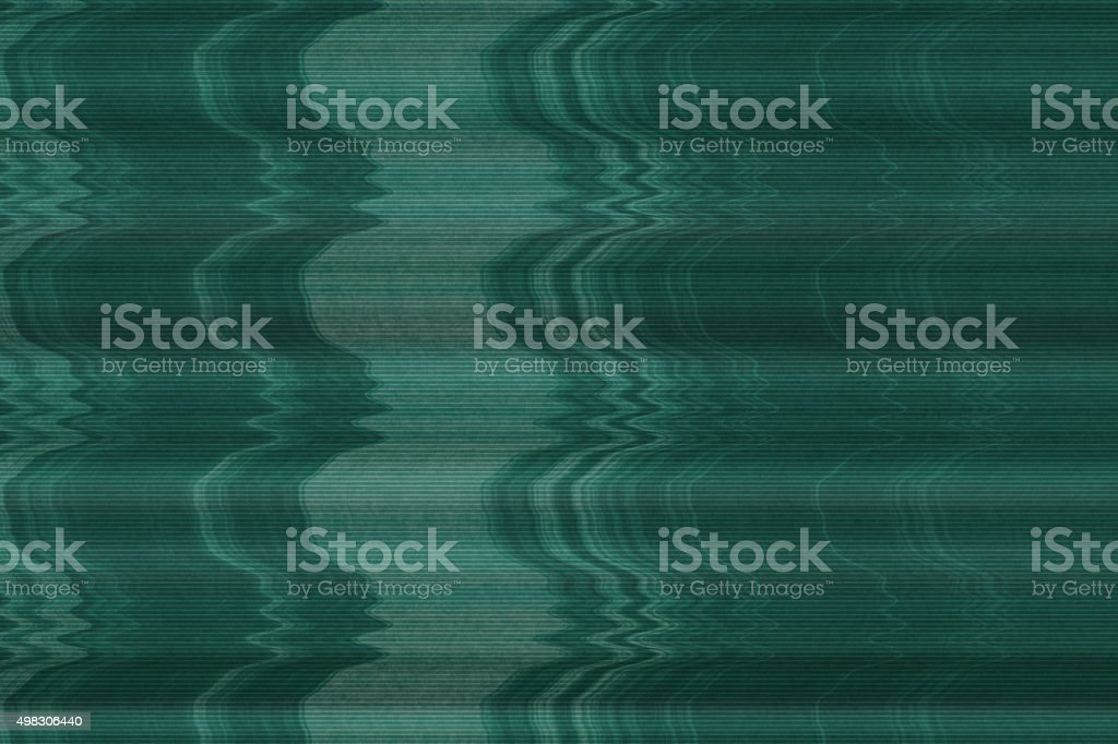 Static on a television screen stock photo