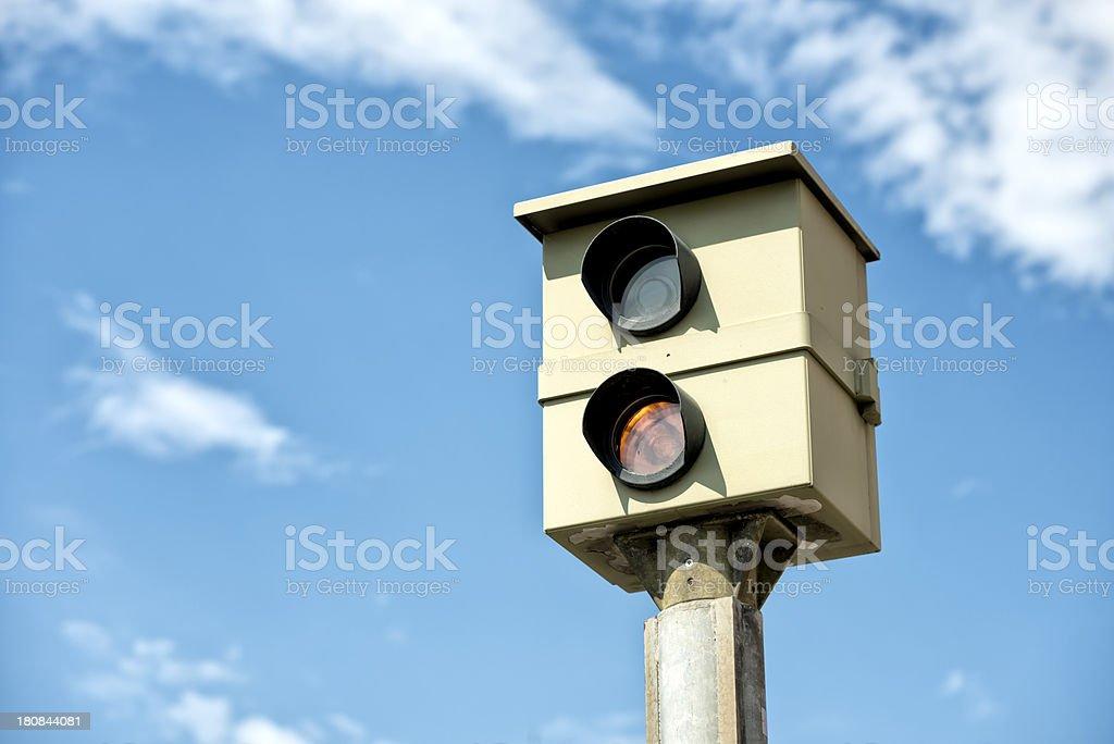Statico Radarfalle Blitzer velocità telecamera - foto stock