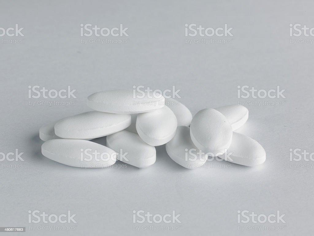 Statin drugs stock photo