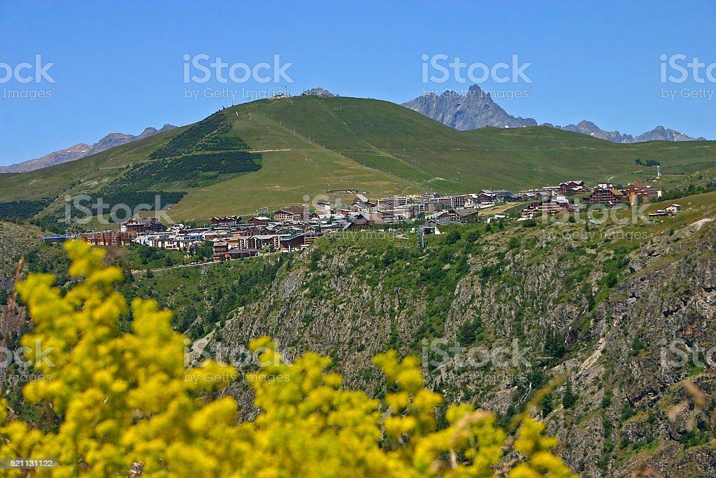 Station Alpe d'Huez foto