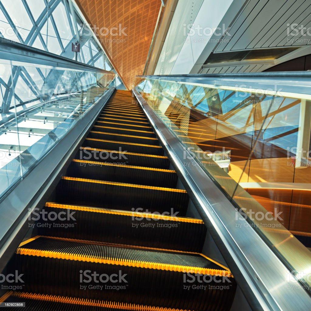 Station Escalator In Dubai United Arab Emirates Stock Photo & More