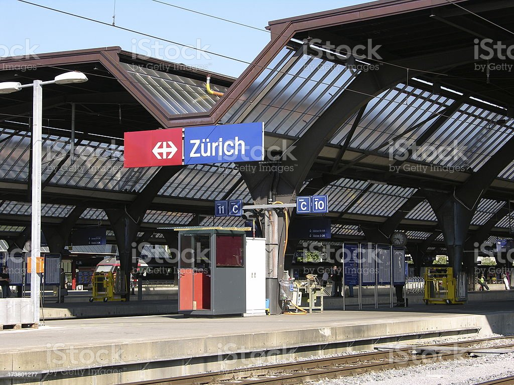 SBB  station in Zurich,