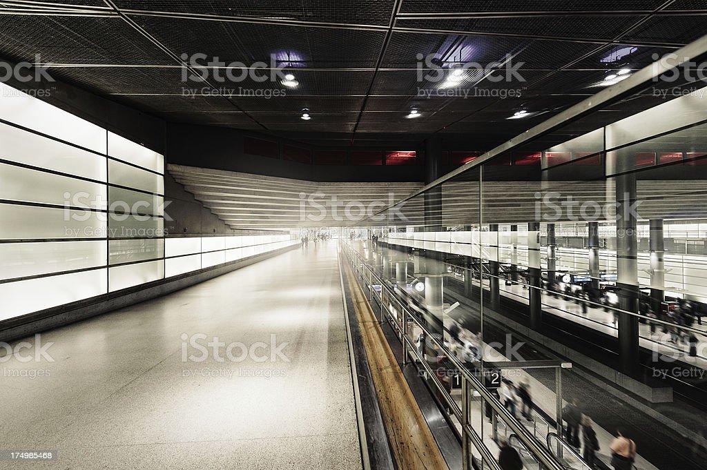 Station royalty-free stock photo