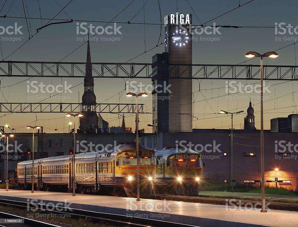 Bahnhof. – Foto