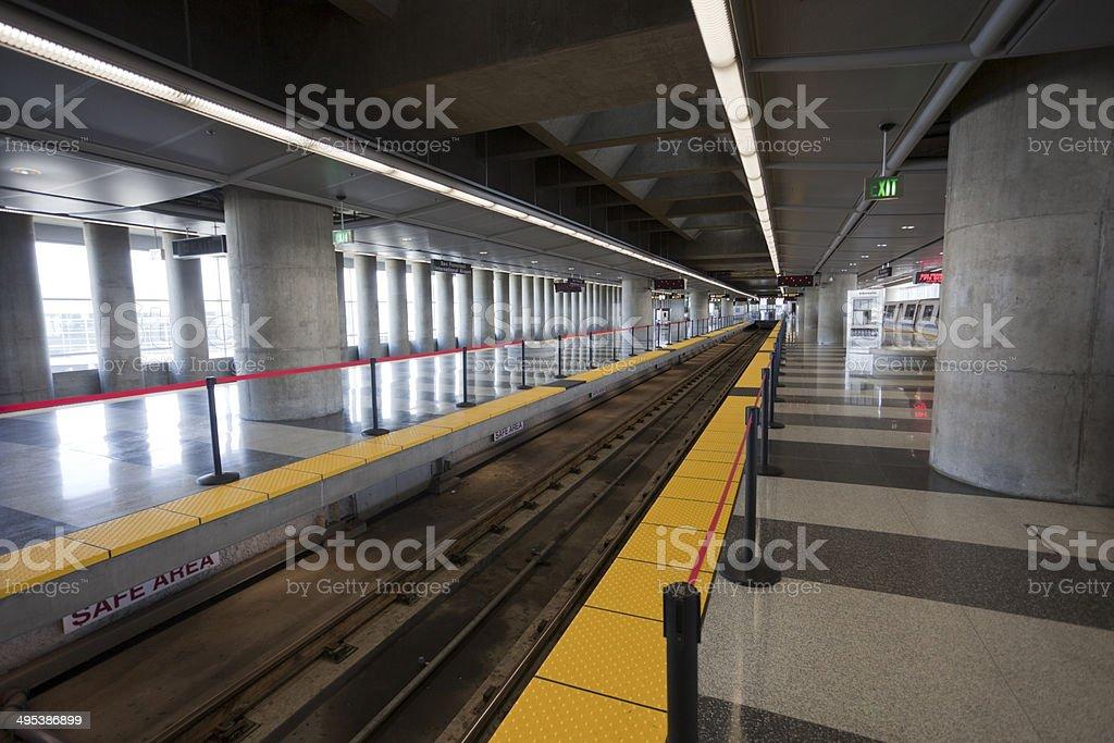 BART Station stock photo