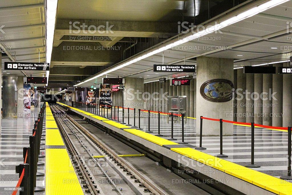 San Francisco, USA - October 1: BART station. stock photo