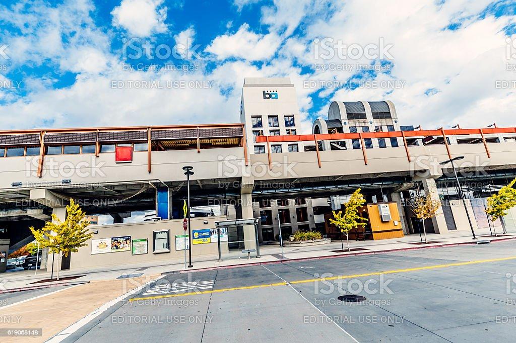 BART station, Pleasant Hill, San Francisco, USA stock photo